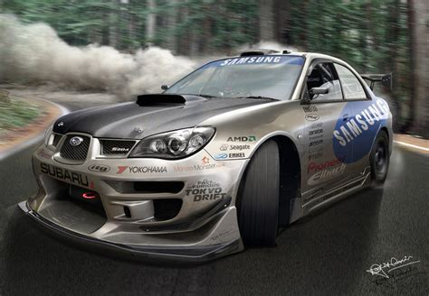 subaru drift subaru impreza drift by hussain1 on deviantart
