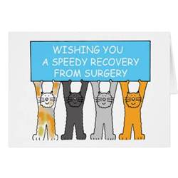 wishing you a speedy recovery from surgery card zazzle