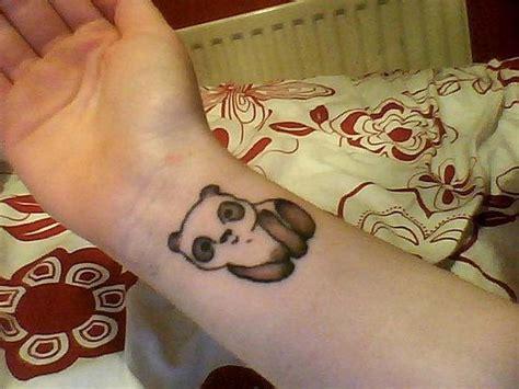panda tattoo wrist 9 cute panda wrist tattoos