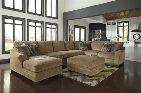 U Shaped Sectional with Ottoman Ideas - ALL ABOUT HOUSE DESIGN Wooden Simple Sofa Chair