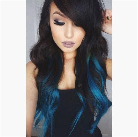 woman with white hair but have streaks m 225 s de 1000 ideas sobre mechas azul en pinterest cabelos