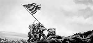iwo jima flag raising wallpaper wallpapersafari