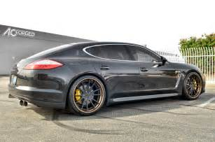 Porsche Panamera Rims 2011 Porsche Panamera Turbo 22 Ac Forged 316 Wheels