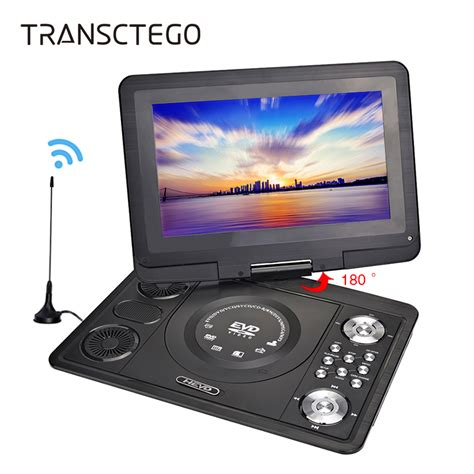 Dvd Portable Layar 13 Inch Hyundai transctego portable dvd player tv 9 8 inch for car home digital with usb hd screen support tv