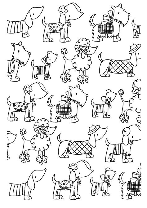 coloring pages for adults dogs dogs coloring pages difficult adult coloring home
