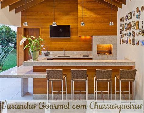 varandas gourmet modernas com churrasqueira house ems