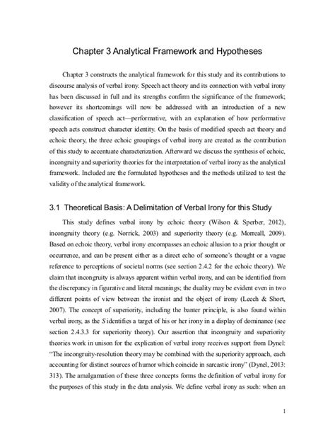 dissertation chapter 3 kris dissertation chapter 3 analytical framework and