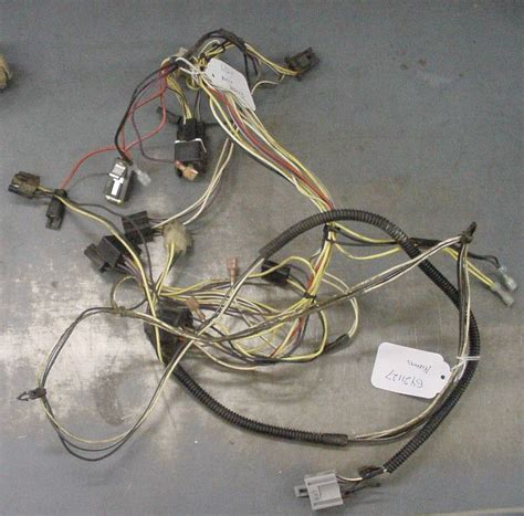 deere used wire harness gy21127 gy20551 l120 l130