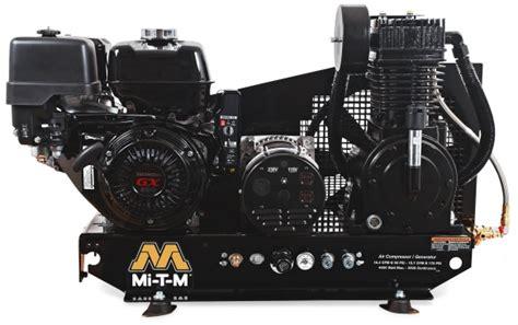 agw sr14 b mi t m air compressor generator welders