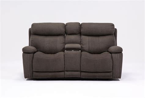 reclining loveseat with console microfiber sofa recliner recliner loveseat with console for