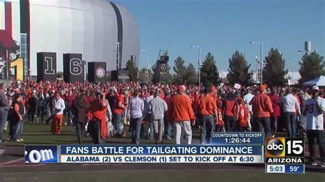 how alabama fans watched alabama clemson fans battle for tailgating dominance