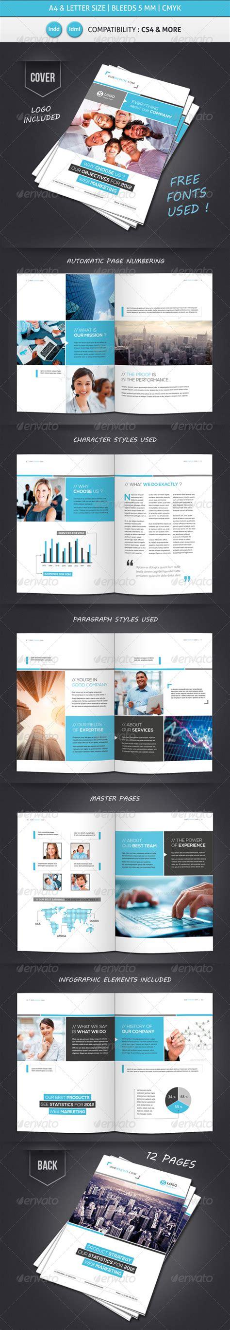 Memo Template Graphicriver corporate brochure presentation styles 187 tinkytyler org