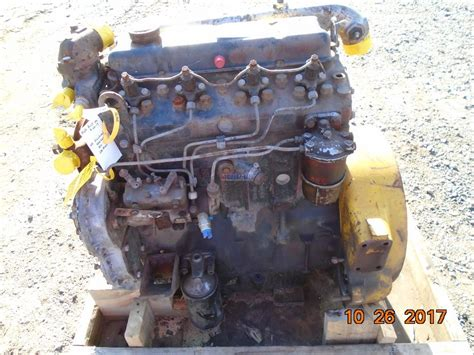 engine perkins  engine complete mechanics special cranking core  direct injected