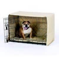 dog crate cover classic two door freckles designs stylish dog crate covers pads crate bedding cratewear
