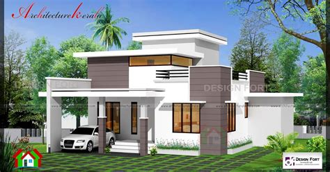 kerala home design 1000 sq ft 1000 square feet 2 bed house plan and elevation
