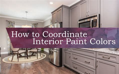 how to coordinate paint colors how to coordinate interior paint colors knightdale station