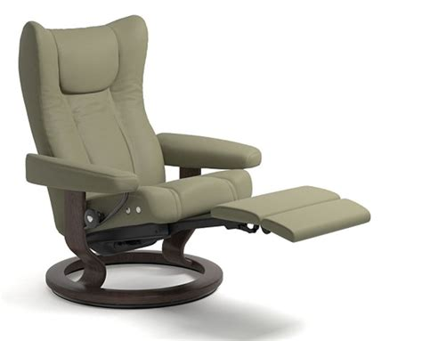 Recliner Power Chair by Stressless Wing Power Legcomfort Footrest Recliner Chair