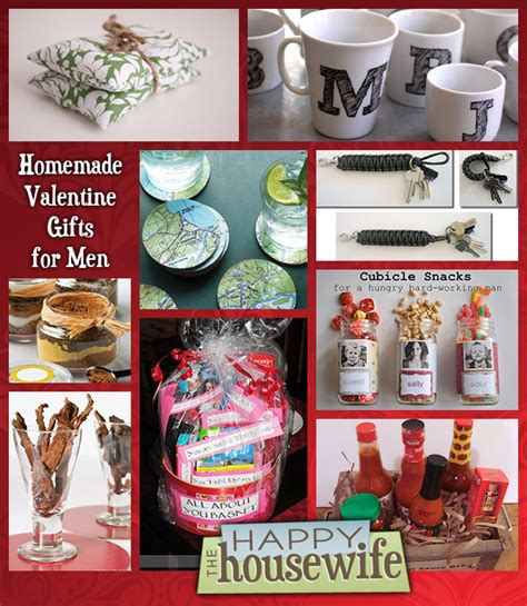 valentines for men fourteen homemade gifts for men the happy housewife