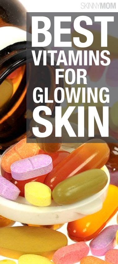 8 Essential Vitamins For by Could The Answer To Clear Skin Really Be In These 5