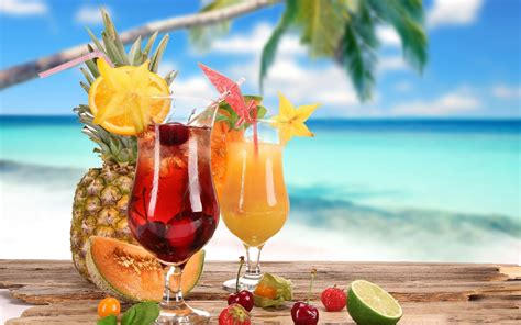 cocktail drinks on the beach nat geo s top beach drinks bowl family vacation