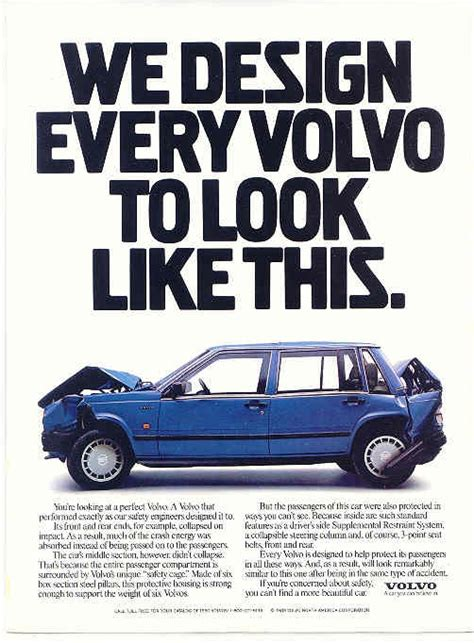 volvo i roll volvo we design every volvo to look like this volvo