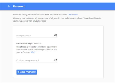 gmail reset token how to change your gmail password in five easy steps