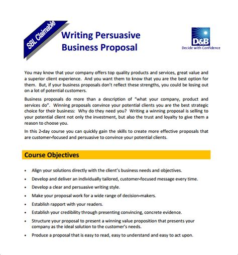 templates for business proposals free download proposal templates 140 free word pdf format download