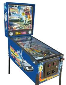 Pool Table Accessories by Back To The Future Pinball Machine Liberty Games