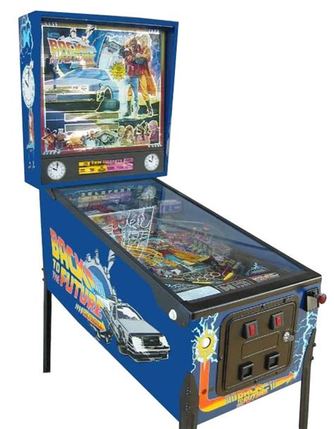 Back To The Future Pinball Machine   Liberty Games