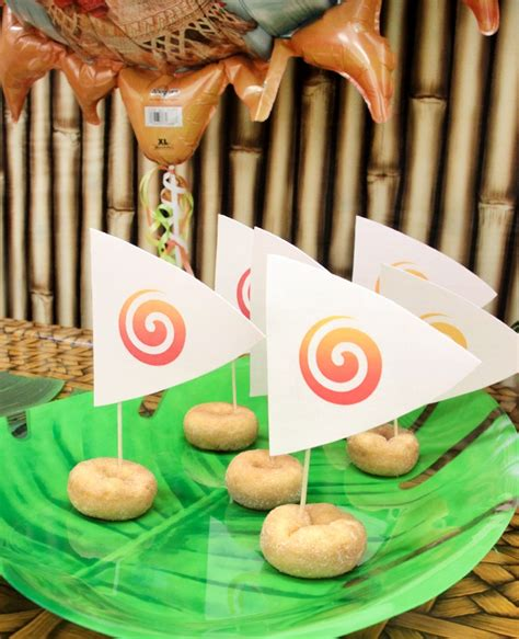 love boat theme party food how to throw the ultimate moana party party delights blog