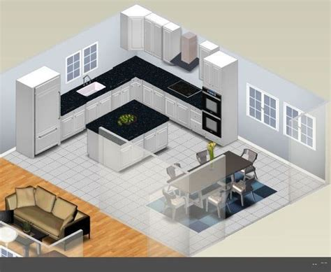 l kitchen layout with island best 25 l shaped kitchen designs ideas on l