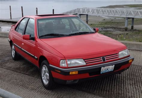peugeot 405 t16 1989 peugeot 405 mi16 for sale on bat auctions sold for