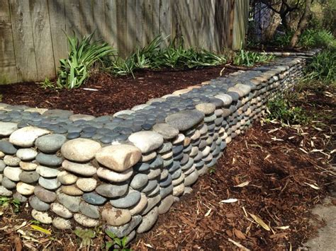 Rocks For Garden Borders River Rock Garden Border Garden Bliss Pinterest River Rock Gardens Gardens And Rivers
