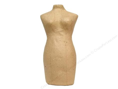 How To Make A Paper Mache Mannequin - paper mache mannequin 8 in createforless