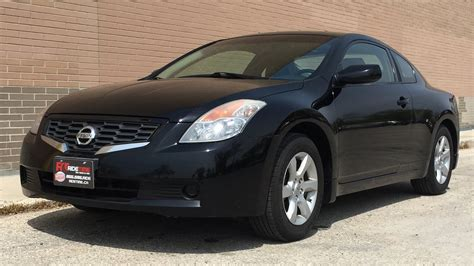 nissan altima  coupe leather sunroof alloy