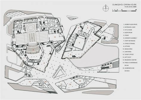 zaha hadid floor plan arts wise zaha hadid sings guangzhou opera house
