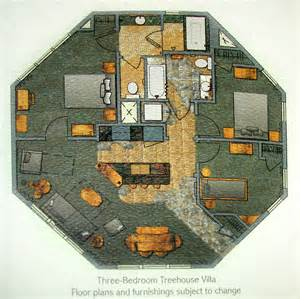 treehouse villas official floor plan rendering mouseinfo