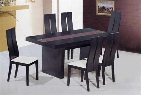 Modern Dining Table Chairs Unique Frosted Glass Top Modern Dinner Table Set Riverside