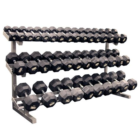 Dumbell Rack pro maxima fw 58a 3 tier dumbbell rack w saddles power systems
