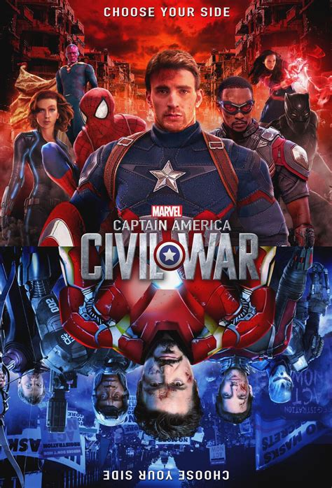 Kaos Antman Chibi captain america civil war poster created by grant