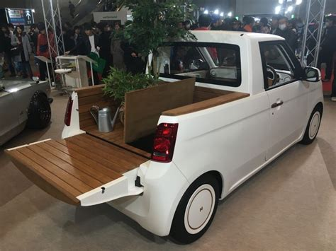 hondas toys and trucks honda n one kei mini truck concept is adorable comes with