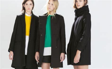 cappotti e look minimal blue is in fashion this year cappotti minimal chic di zara