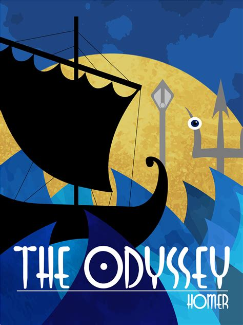 the odyssey picture book the odyssey book cover on behance