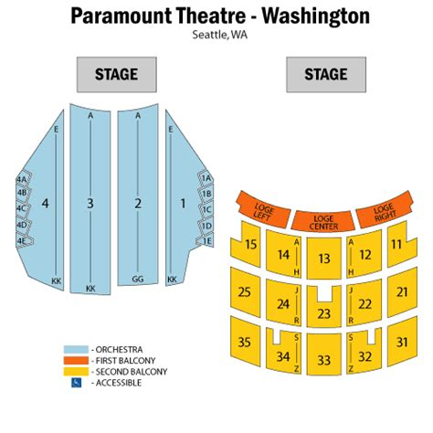 paramount theater seattle seating chart owl city july 15 tickets seattle paramount theatre