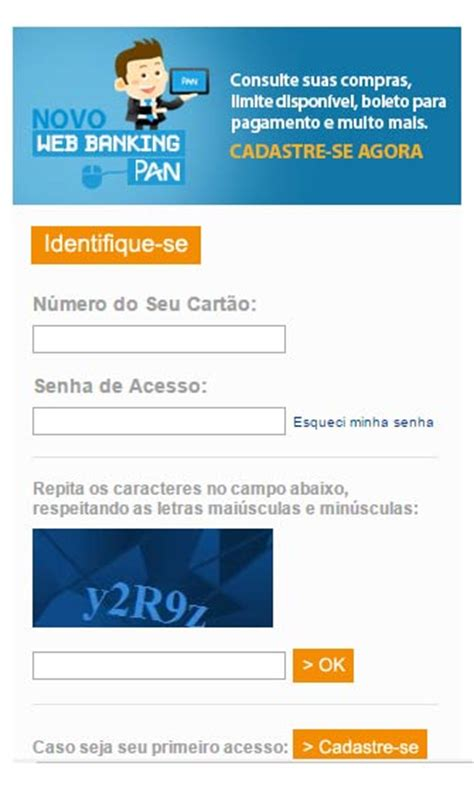 banco pan fatura cart 227 o pan 2 via extratos limites emiss 195 o r 193 pida