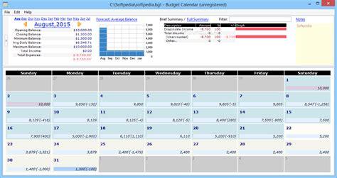 Budget Calendar Software Budget Calendar