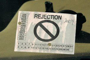 Rejection Sticker Va