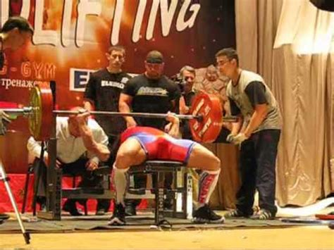 raw bench record phillip brewer 440 bench press 165 doovi