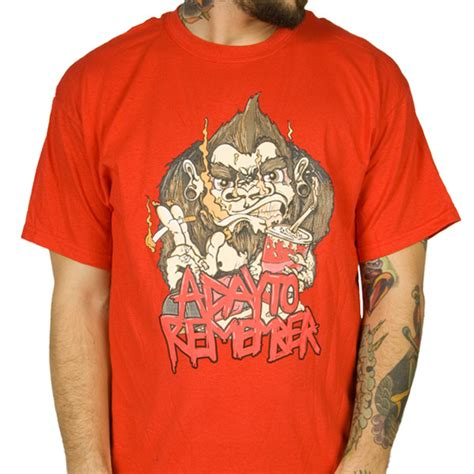 Kaos Band A Day Remember Tshirt Musik A Day 03 a day to remember quot soda pop ape quot t shirt indiemerchstore