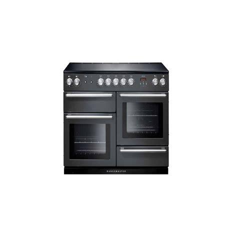 kitchen range with induction hob rangemaster nex110eisl c nexus 110 electric range cooker with induction hob slate chrome trim